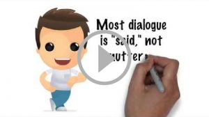 Self publishing video - Writing Successful And Convincing Dialogue