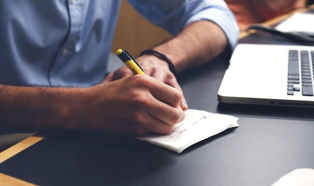 Writing tips for new authors